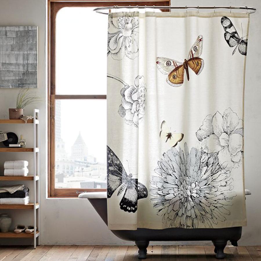 C mo limpiar las cortinas del ba o ideas limpieza - Como limpiar bano ...