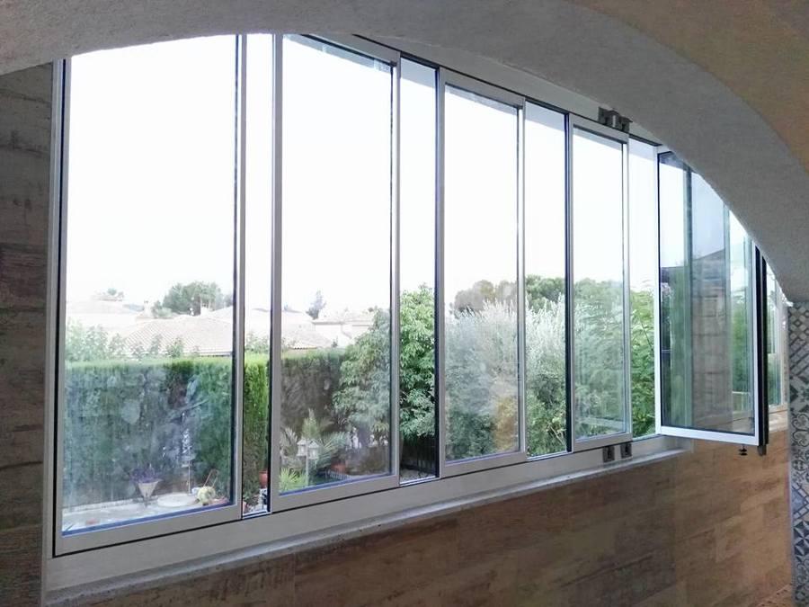 cortinas de cristal climalit 6