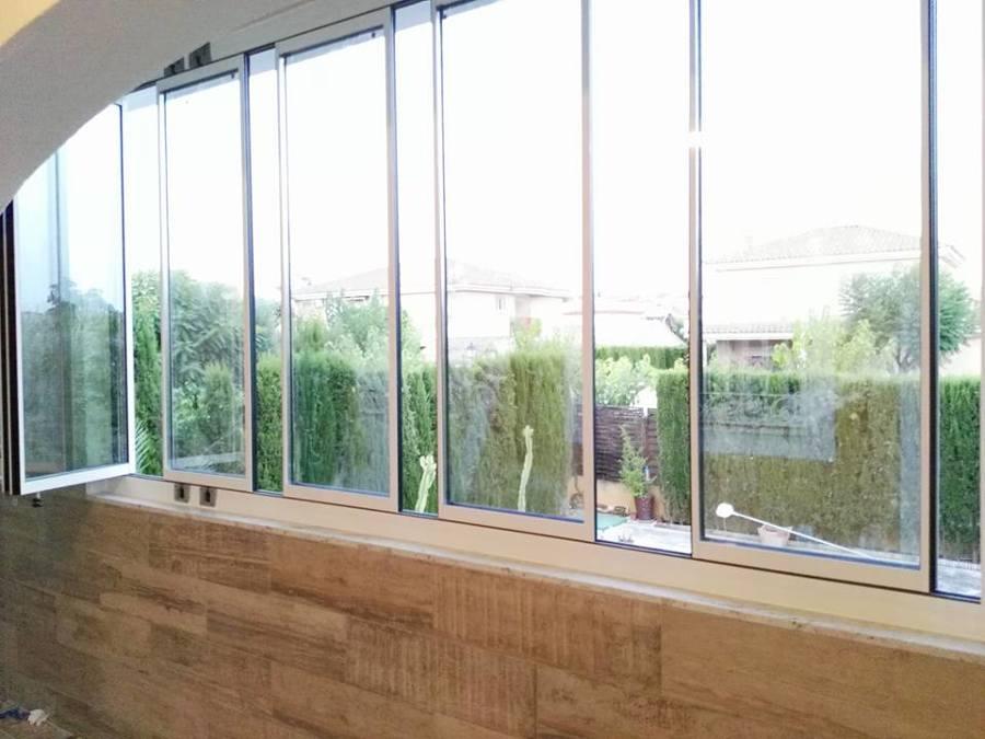 cortinas de cristal climalit 7