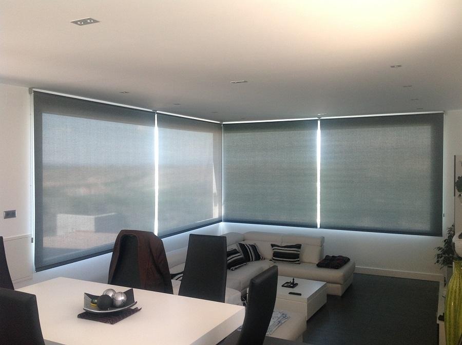 Foto cortinas enrollables de polyscreen 1 duo face de - Estores polyscreen ...