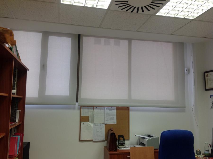 Cortinas enrollables en oficina de intra ideas art culos - Cortinas de oficina ...
