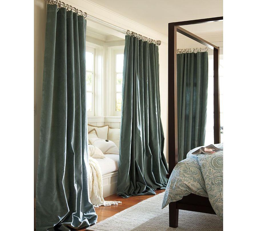 C mo disimular los techos bajos ideas decoradores for La casa de las cortinas