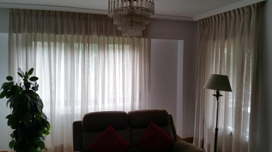 Imagenes de cortinas para salon tienda de cortinas para - Cortinas baratas zaragoza ...