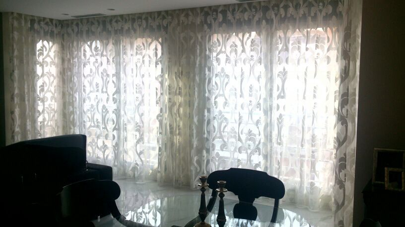 Cortinas sal n fina ideas tapiceros - Cortinas salon ideas ...