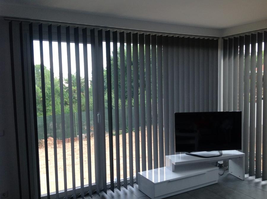 Foto cortinas verticales en lama de 127 de tecnicort cortinasmadrid 604725 habitissimo - Cortinas verticales madrid ...
