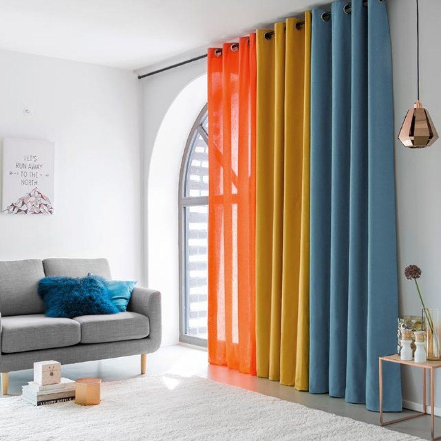 cortinas y visillo color