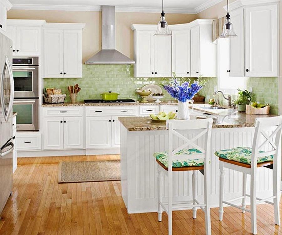 Suelo madera cocina estilo nrdico sobre suelo de madera for Suelos de madera para cocinas