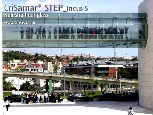 CriSamar STEP en el Puente Champalimaud, Lisboa