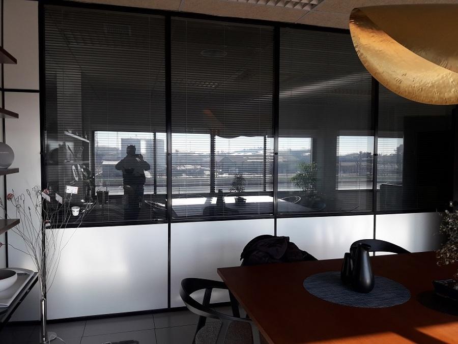 Cristales interior de oficina