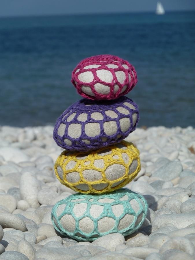 crochet piedras