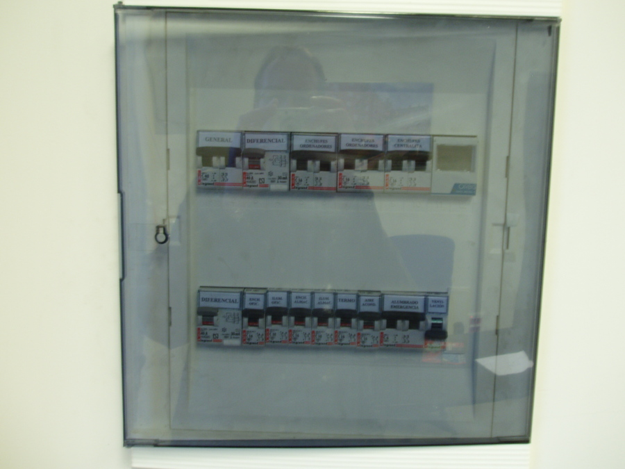 cuadro eléctrico de servicios comunitarios