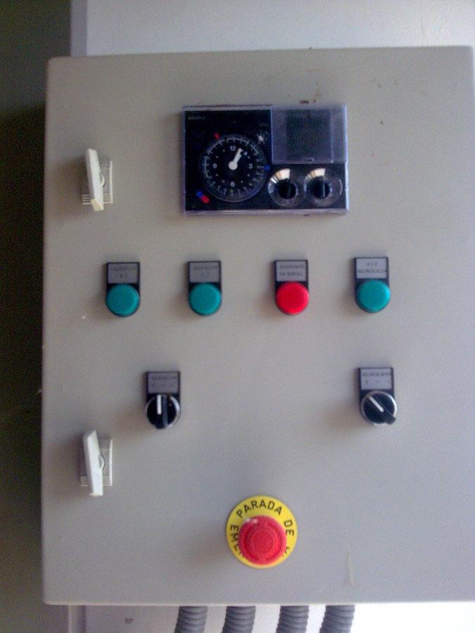 Cuadro Eléctrico en Sala de Calderas