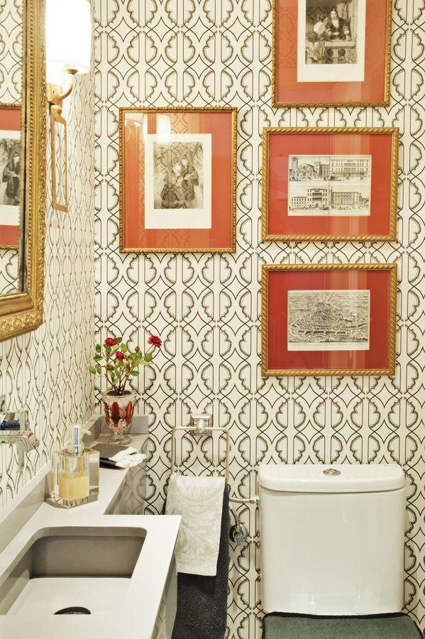 cuadros en el baño