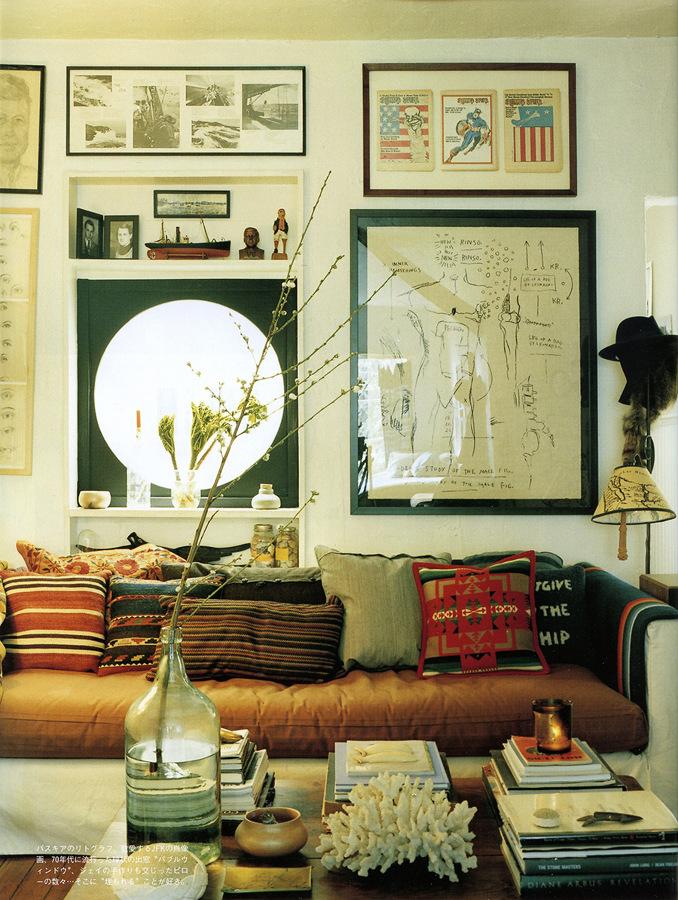 foto cuadros encima del sof de deliving 873312