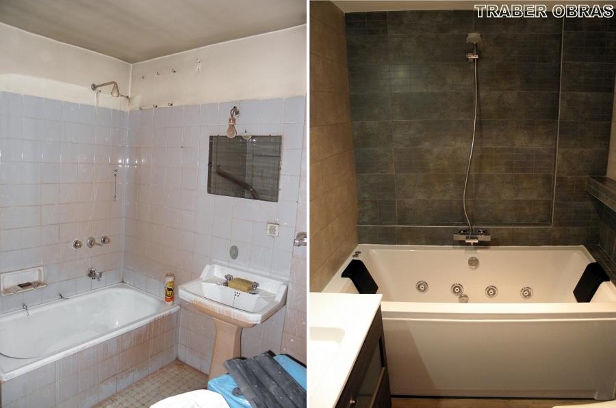Foto: Cuarto de Bau00f1o antes y Despuu00e9s. de Traber Obras SL #154151 ...