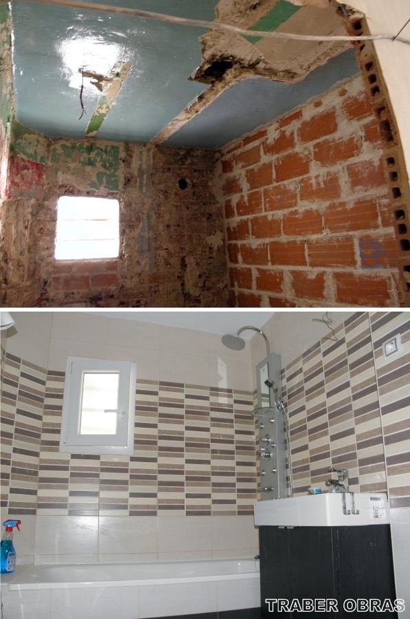 Foto: Cuarto de Baño antes y Después. de Traber Obras SL #154170 ...