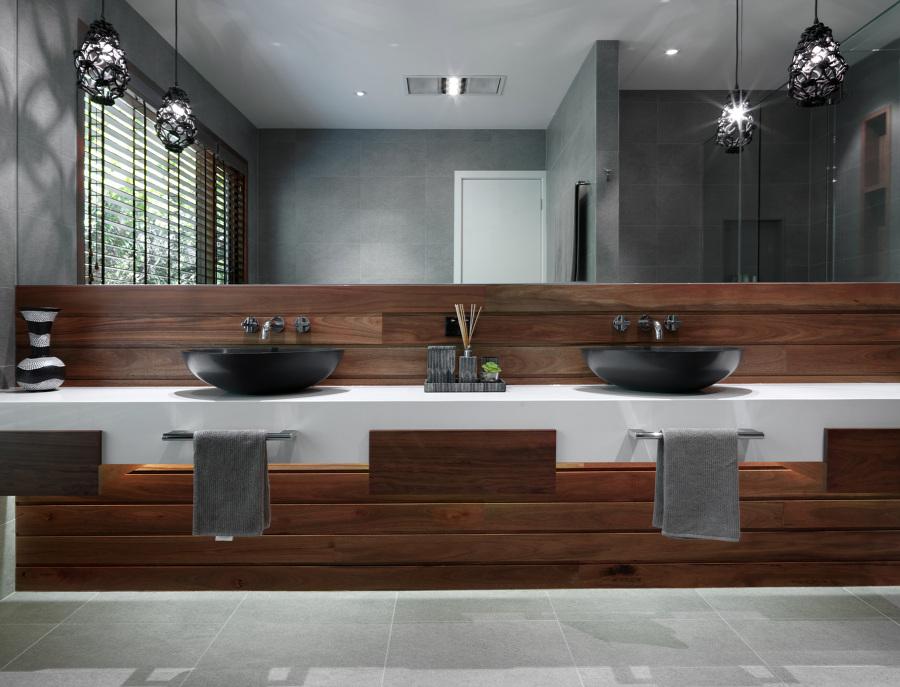 Foto cuarto de ba o con dos lavabos de marta 954750 for Banos con dos lavabos