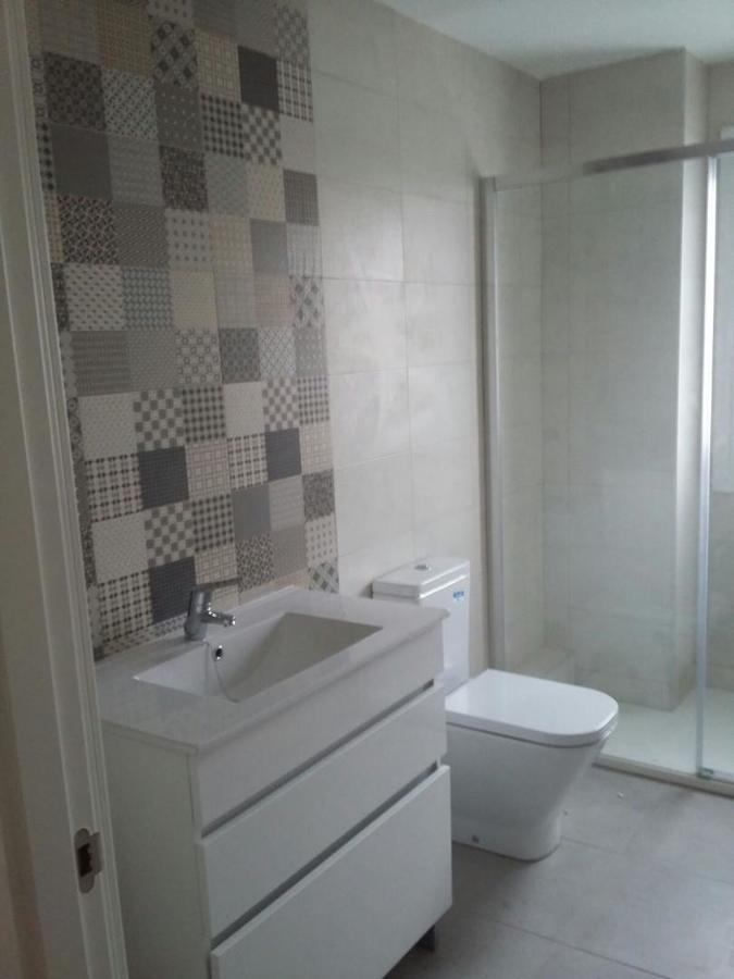 Cuarto de baño con mosaico