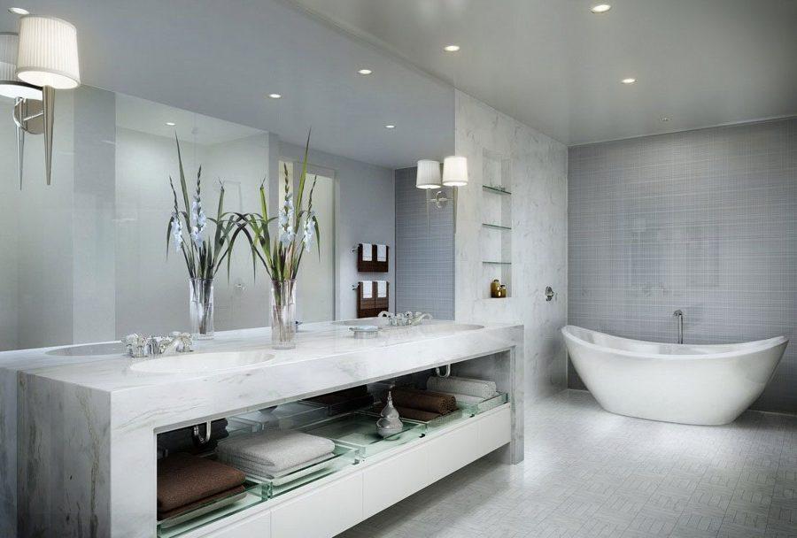Cuarto de baño de mármol