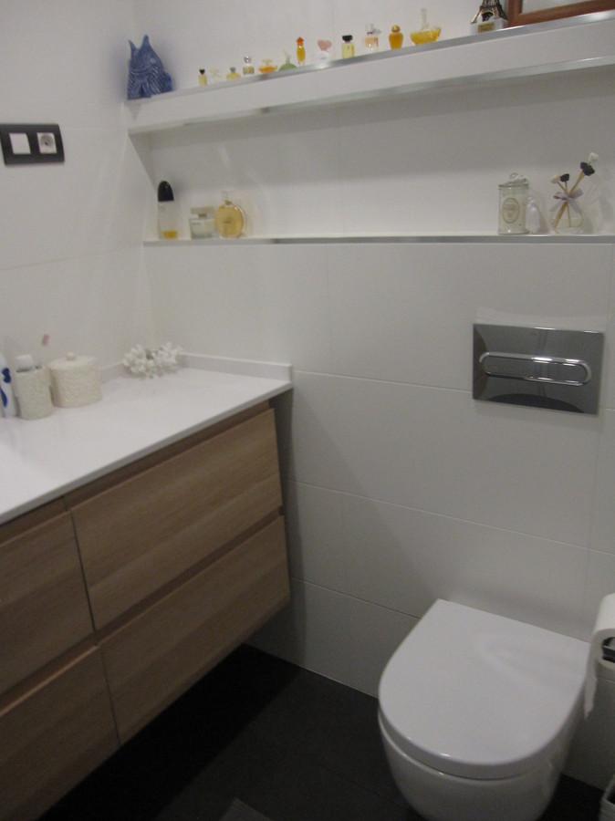 Cuarto de baño después de la reforma