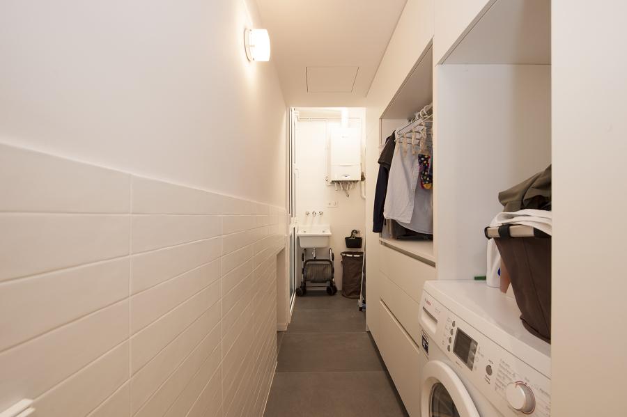 Cuarto de limpieza y zona de lavado