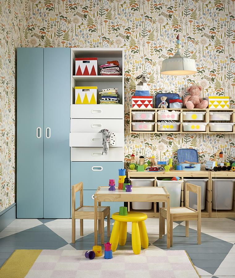 Cuarto infantil catálogo IKEA 2020