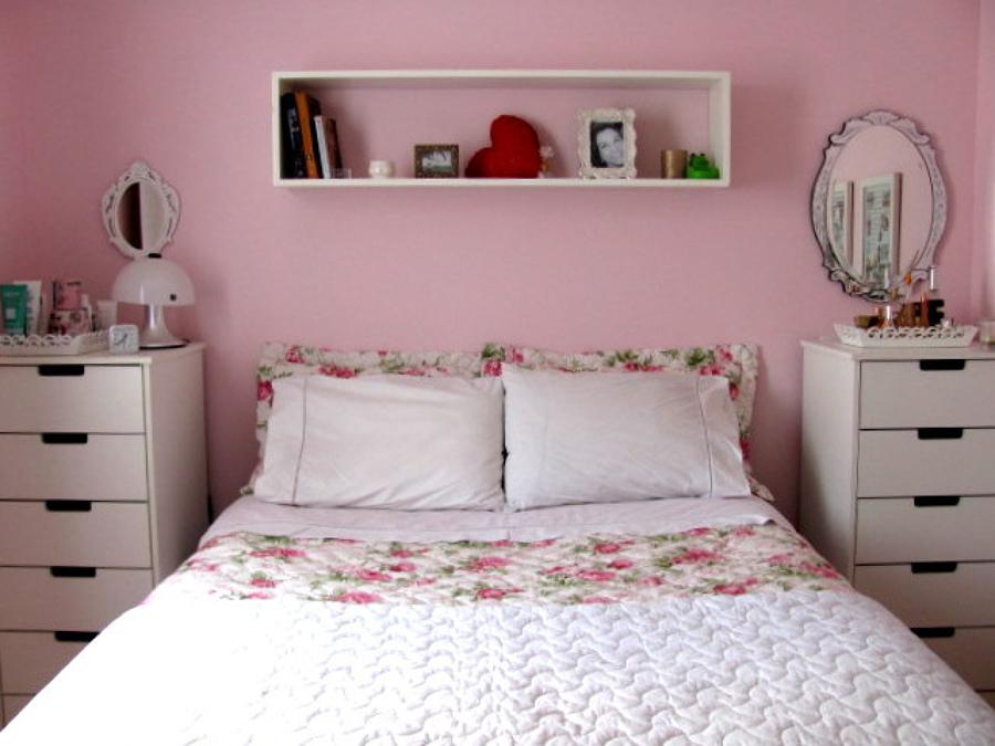 C mo organizar un cuarto femenino ideas muebles for Organizar habitacion