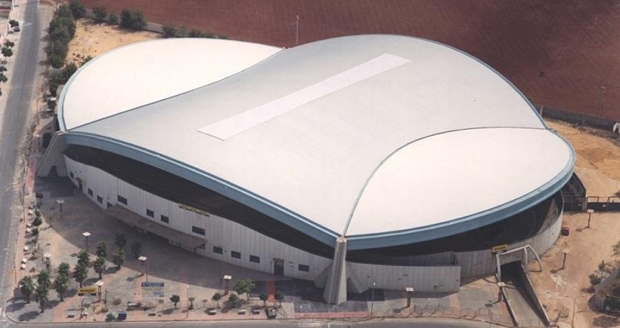 Cubierta espacial Velódromo Dos Hermanas.
