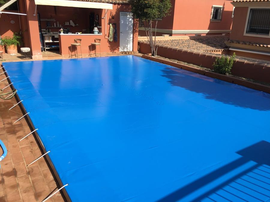 Cubierta protección para piscinas