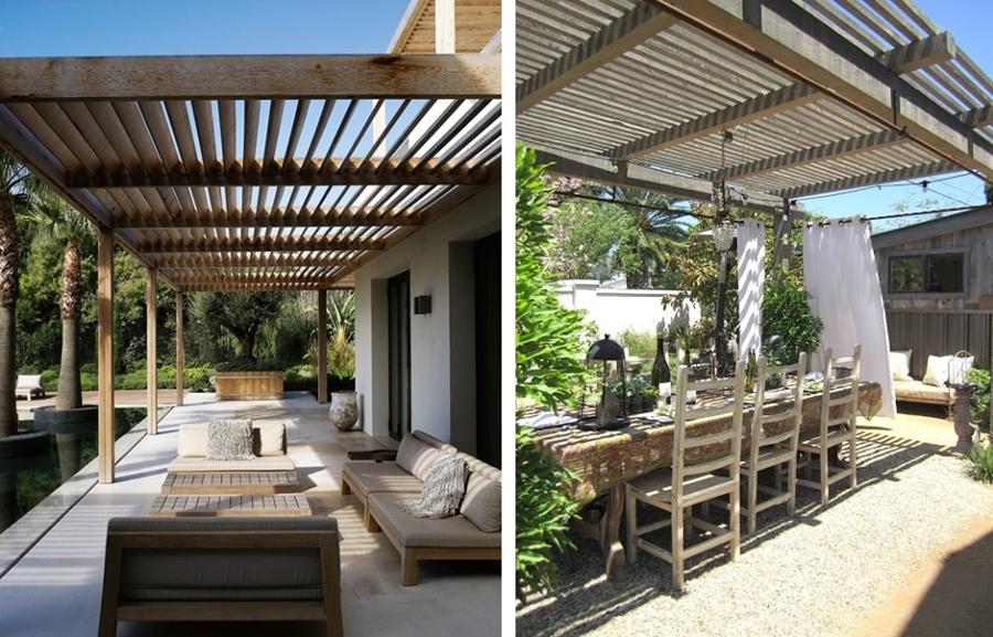 Disfruta de tu terraza sin miedo al sol cinco soluciones for Cubiertas modernas para terrazas