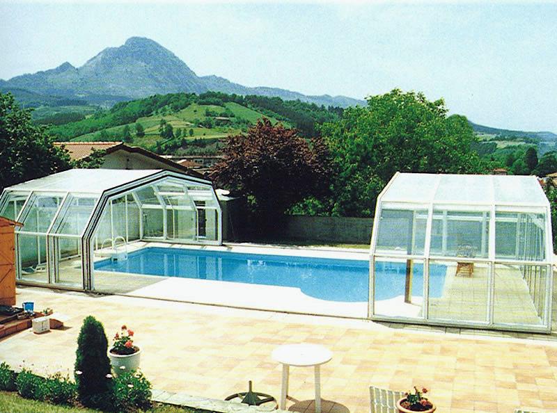 Foto cubiertas piscina de cubiertas de piscina acmsa for Piscina cubierta zaragoza