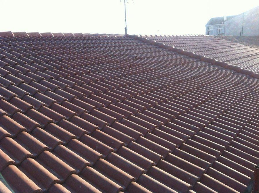 cubiertas teja plana de hormigon