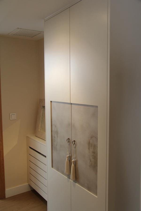 Cubrerradiador y armario