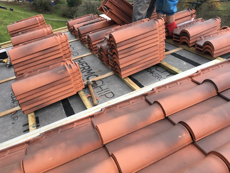 Cubrición co teja