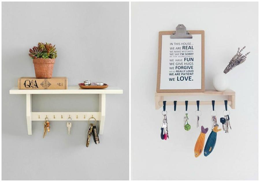 5 trucos para no perder las llaves nunca m s ideas - Perchas de pared de diseno ...