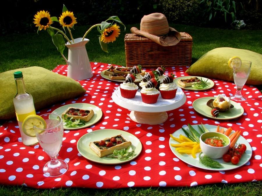 Cumpleaños formato picnic merienda