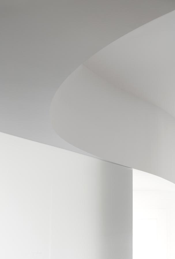 Curva del techo del salón