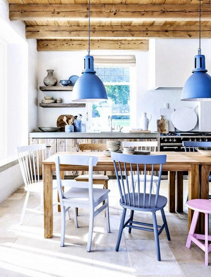 cocina vigas de madera