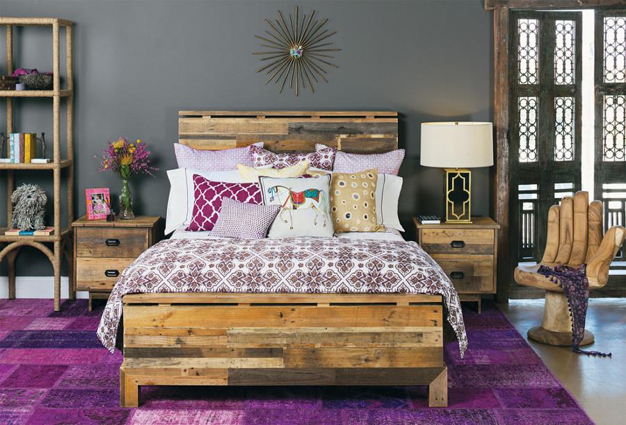 Decoración dormitorio Boho Chic