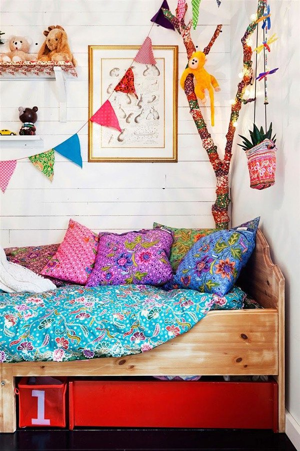 Decoraci n boho chic las claves del estilo m s bohemio y libre ideas decoradores - Decoracion estilo hippie chic ...