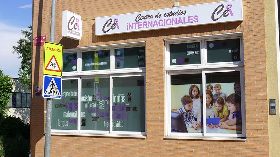 Decoración Centro de estudios