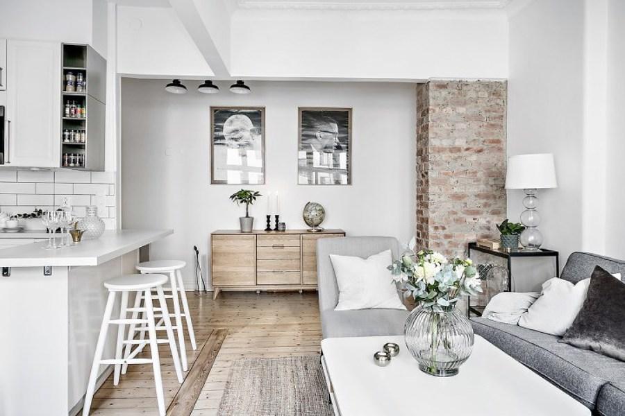 Foto decoraci n cocina abierta de miv interiores 1317649 for Cocinas paralelas