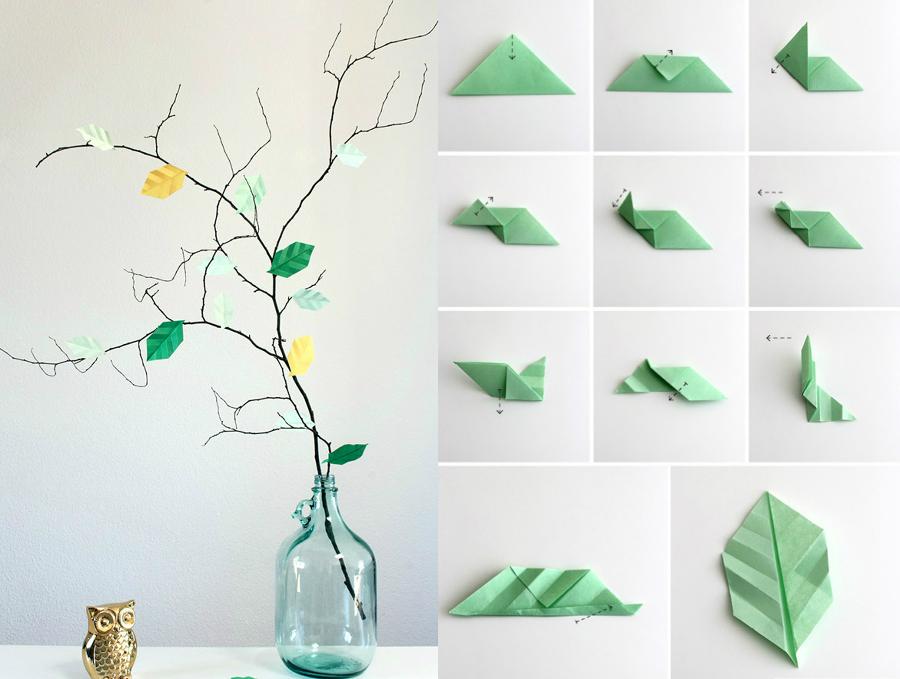 Descubre el arte del origami y todas sus posibilidades for Decoracion con figuras en la pared