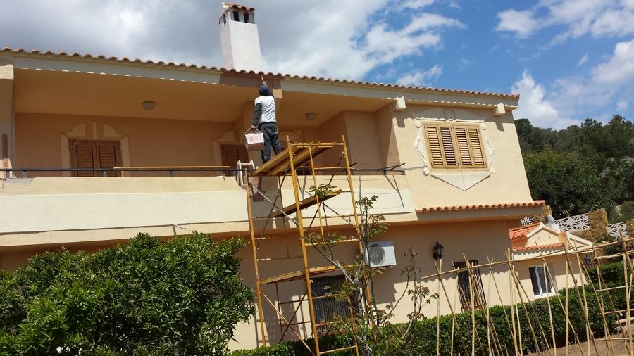 Reparacion y decoracion de chalet en benaguaci valencia for Decoracion de chalets adosados