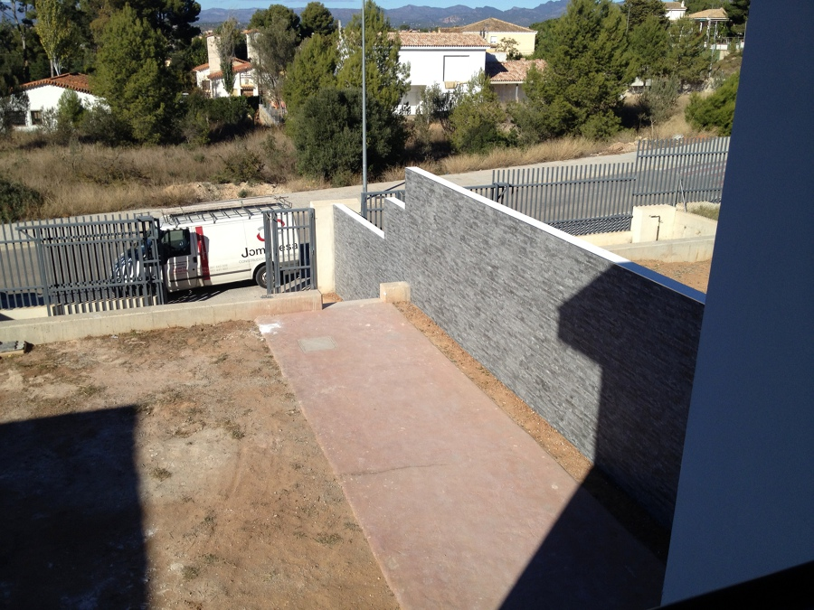 foto decoracion de muros exteriores de construcciones