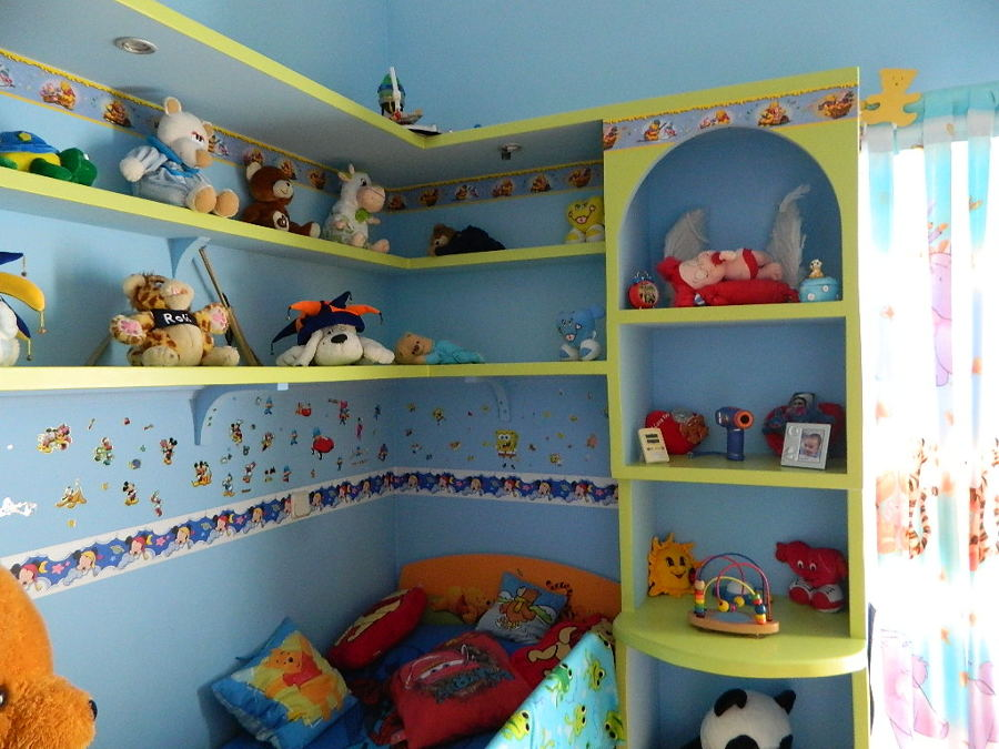 decoracion en habitacion infantil