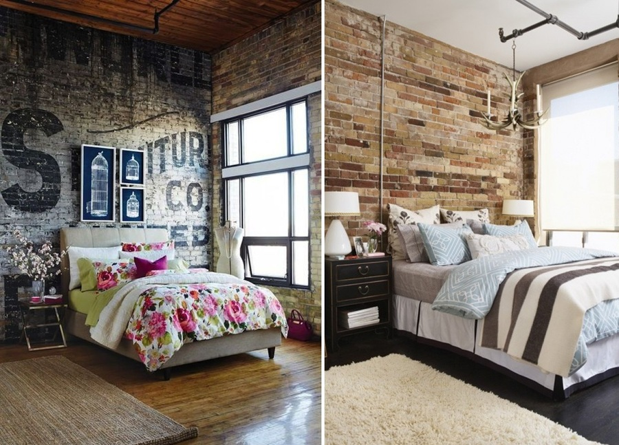 Claves Para Decorar Un Dormitorio De Estilo Industrial