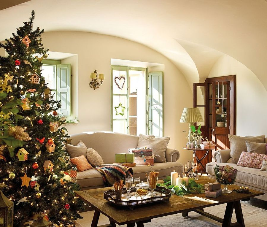 9 consejos imprescindibles para decorar tu casa en navidad - Adornos navidenos casa ...