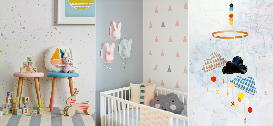 Ideas diy para decorar dormitorios infantiles modernos - Ideas para decorar habitacion infantil ...