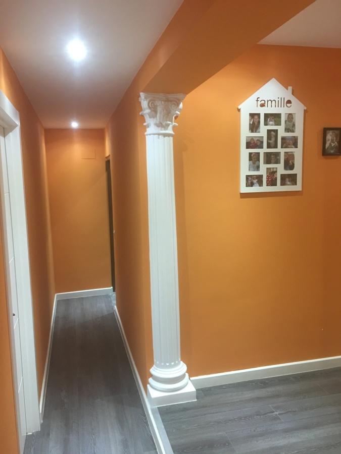 decoracion pasillo chalet